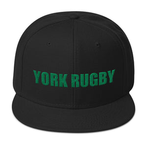 York Rugby Snapback Hat