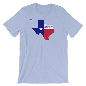Texas Rugby Unisex short sleeve t-shirt