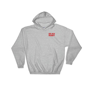 Big Red Rugby Hooded Sweatshirt