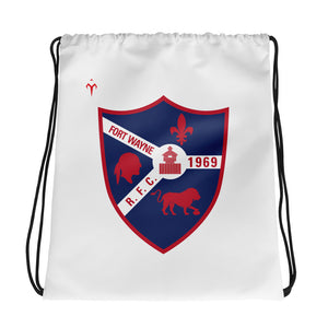 Fort Wayne Rugby Drawstring bag