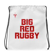 Big Red Rugby Drawstring bag