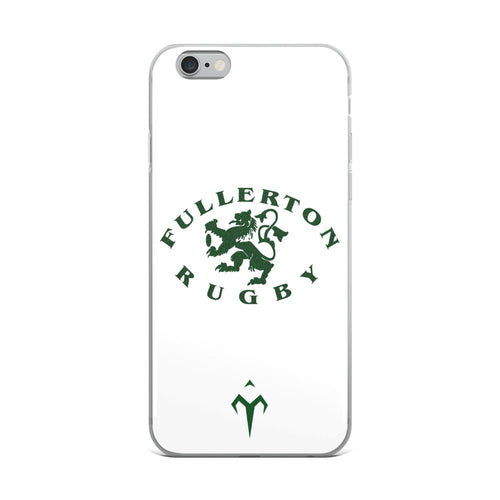 Fullerton Rugby iPhone Case