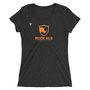 Ruck ALS Foundation Ladies' short sleeve t-shirt