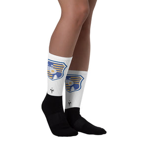 CSS Black foot socks