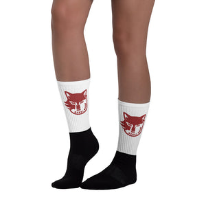 Rebel Rugby Black foot socks