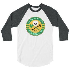 Blackthorn Barbarians 3/4 sleeve raglan shirt