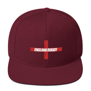 England Rugby Snapback Hat