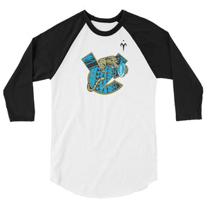 Valley Center Rugby 3/4 sleeve raglan shirt