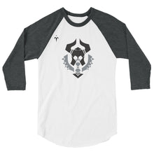 N. Texas Barbarians 3/4 sleeve raglan shirt