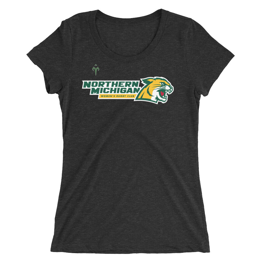 Northern Michigan Rugby Women's Club Ladies' short sleeve t-shirt