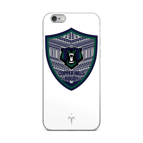 Copper Hills Rugby iPhone Case