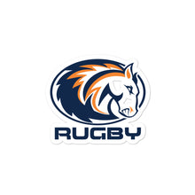 Mustangs Rugby Bubble-free stickers