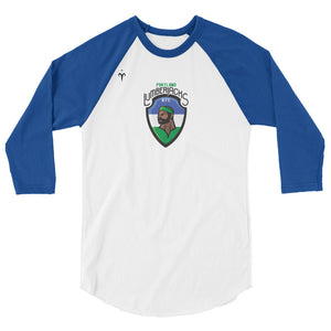 Lumberjacks 3/4 sleeve raglan shirt