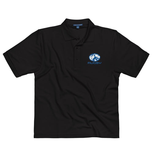 Cougar Rugby Embroidered Polo Shirt