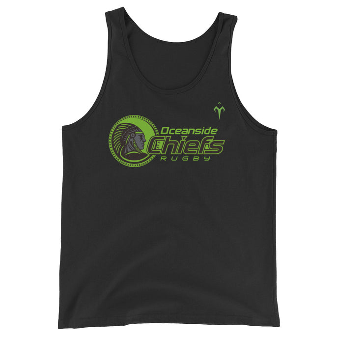 Oceanside Chiefs Rugby Unisex  Tank Top