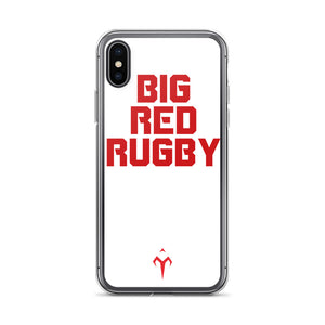Big Red Rugby iPhone Case