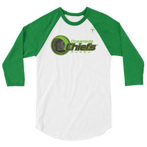 Oceanside Chiefs Rugby 3/4 sleeve raglan shirt