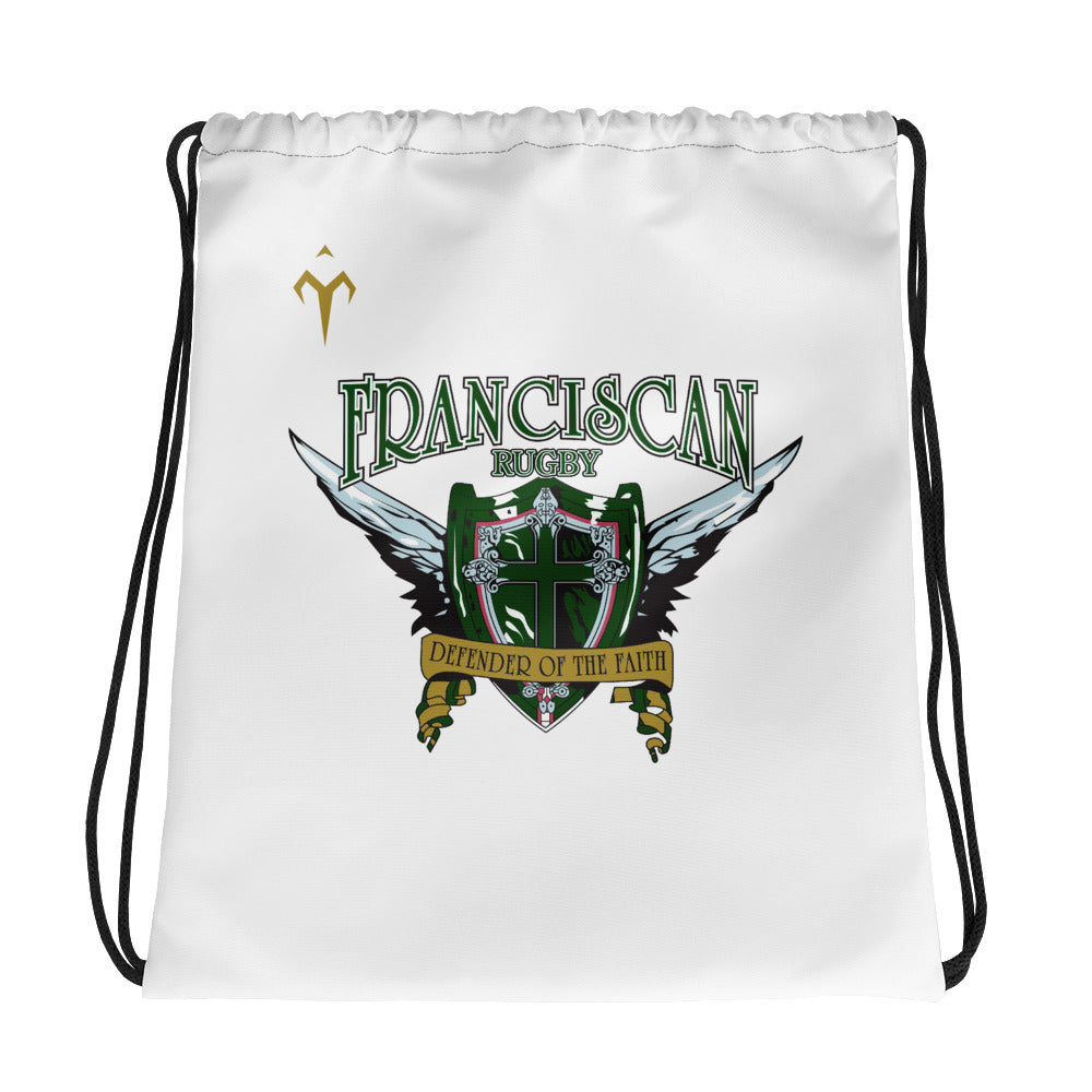 Franciscan Rugby Drawstring bag