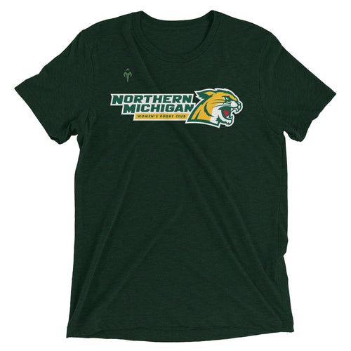 Northern Michigan Rugby Women's Club Rugby Short sleeve t-shirt