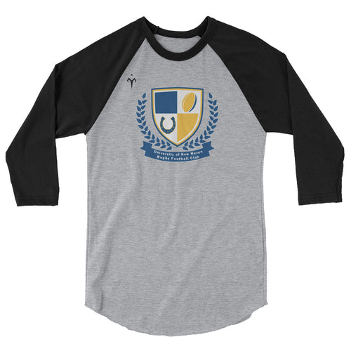 New Haven Rugby 3/4 sleeve raglan shirt