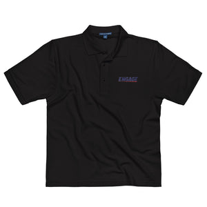 Engage Rugby Embroidered Polo Shirt