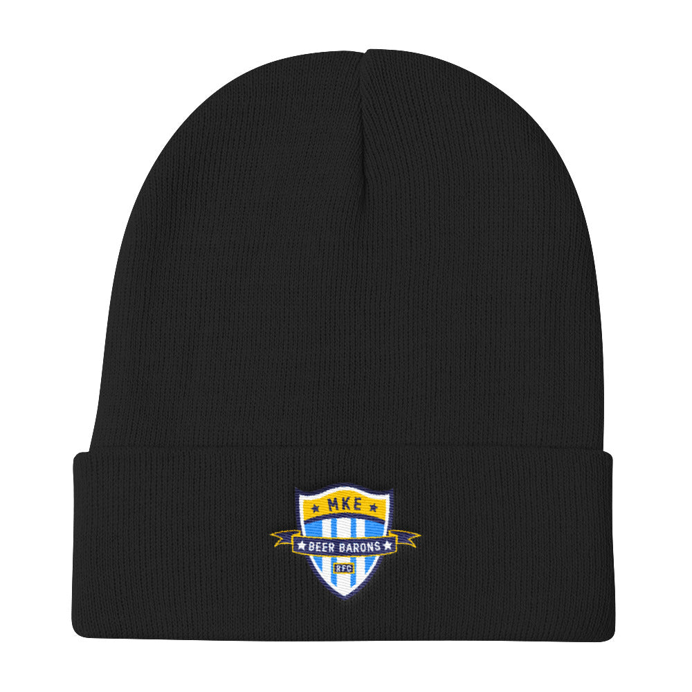 Beer Barons Rugby Knit Beanie
