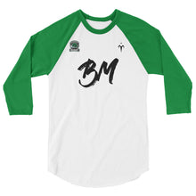 Brett Morrow Memorial 3/4 sleeve raglan shirt