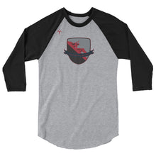 Red Raiders Rugby 3/4 sleeve raglan shirt