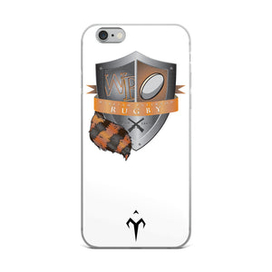 WPU White iPhone Case