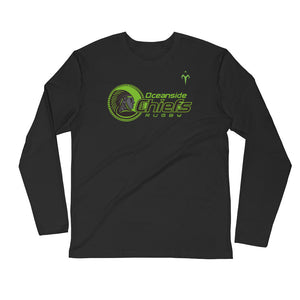 Oceanside Chiefs Rugby Long Sleeve Fitted Crew