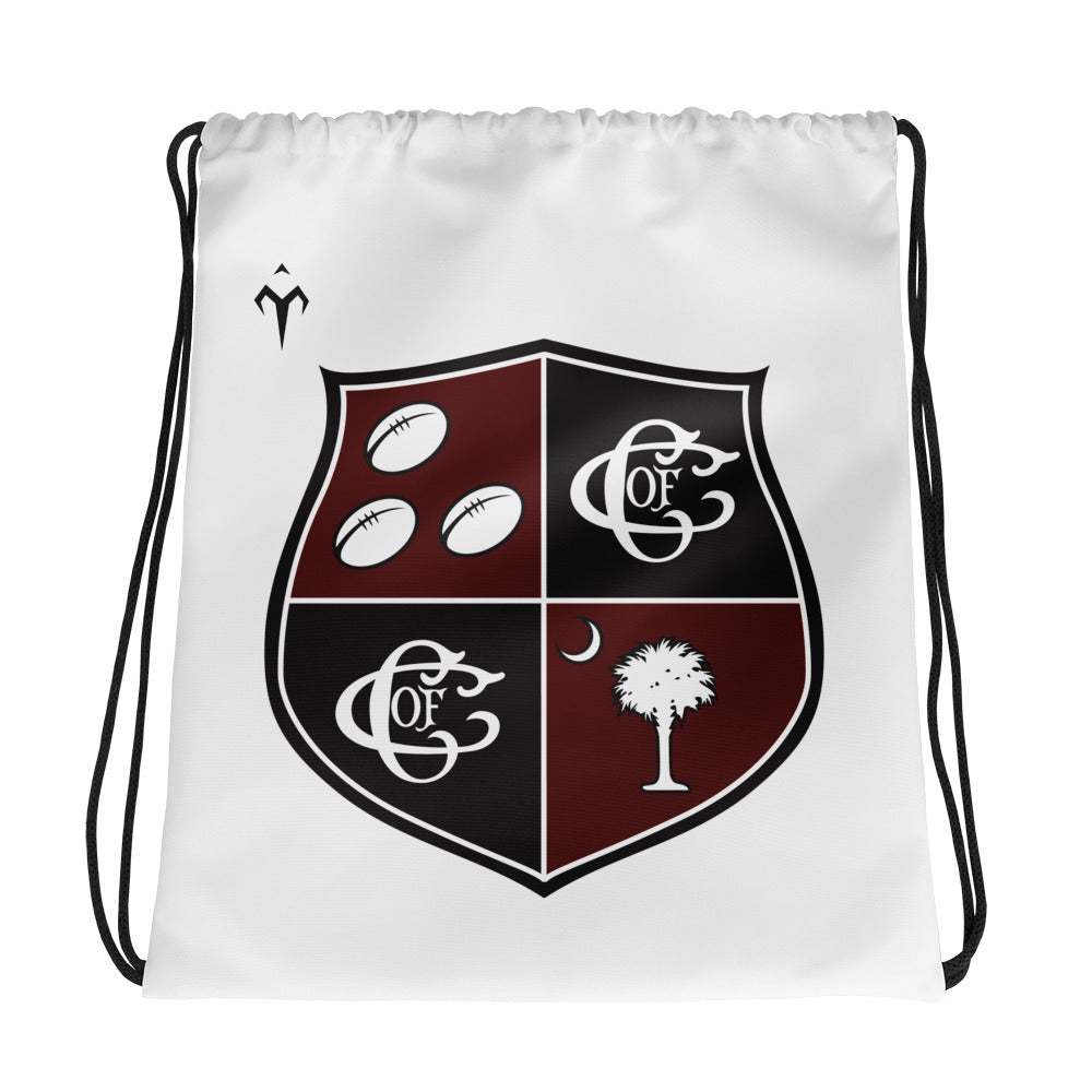 Charleston Rugby Drawstring bag