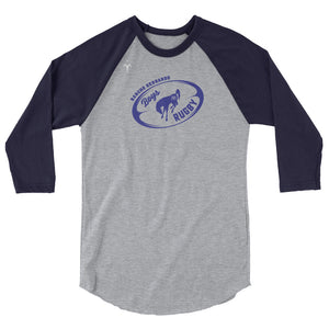 Rancho Bernardo High School Boys Rugby 3/4 sleeve raglan shirt