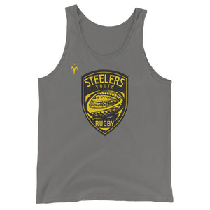 Provo Steelers Youth Rugby Bella + Canvas 3480 Unisex Jersey Tank with Tear Away Label
