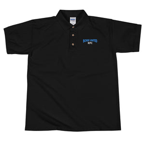 Boise United Rugby Embroidered Polo Shirt