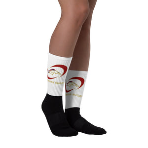 Herriman Black foot socks
