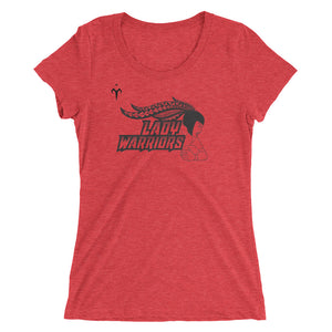 Lady Warriors Rugby Ladies' short sleeve t-shirt
