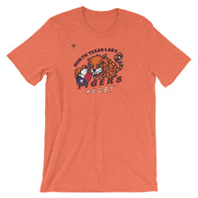North Texas Tigers Rugby Short-Sleeve Unisex T-Shirt