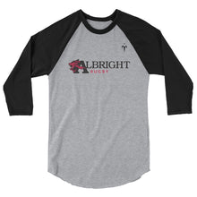 Albright 3/4 sleeve raglan shirt