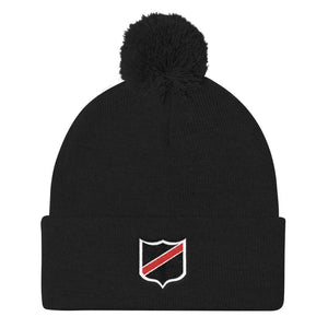 UW Stevens Point Rugby Club Pom Pom Knit Cap