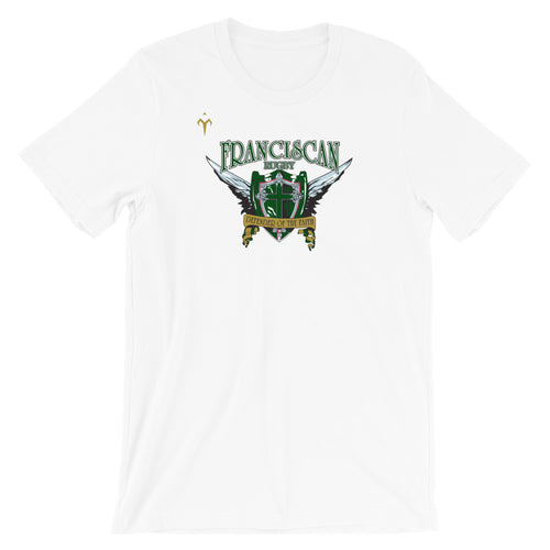 Franciscan Rugby Short-Sleeve Unisex T-Shirt