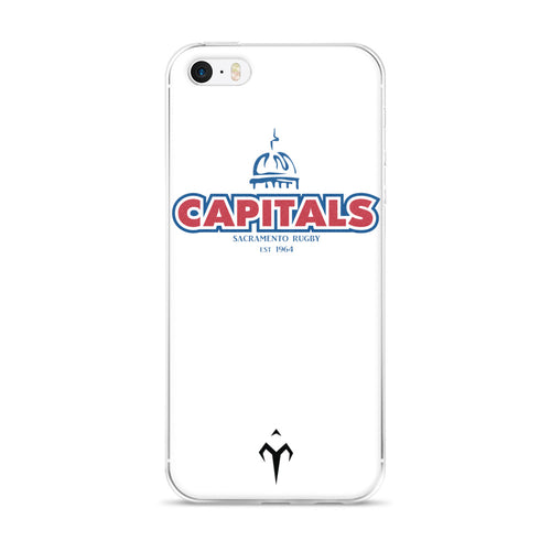 Capitals Rugby iPhone Case