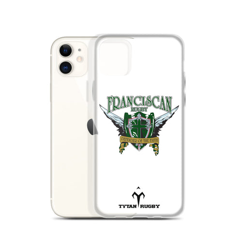 Franciscan Rugby iPhone Case