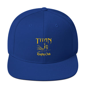 Titan Rugby Snapback Hat