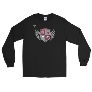 Jenks Trojans Rugby Long Sleeve T-Shirt