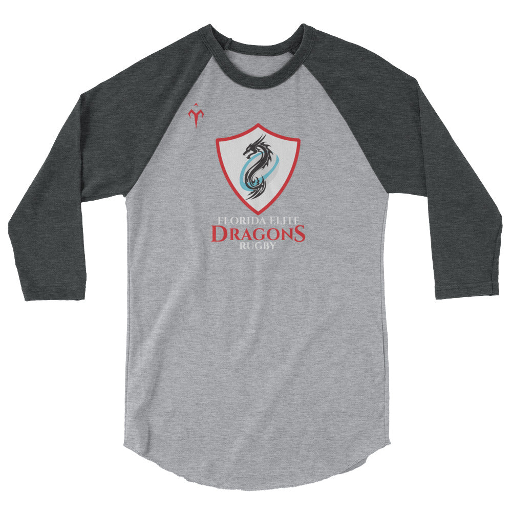 Florida Elite Dragons 3/4 sleeve raglan shirt