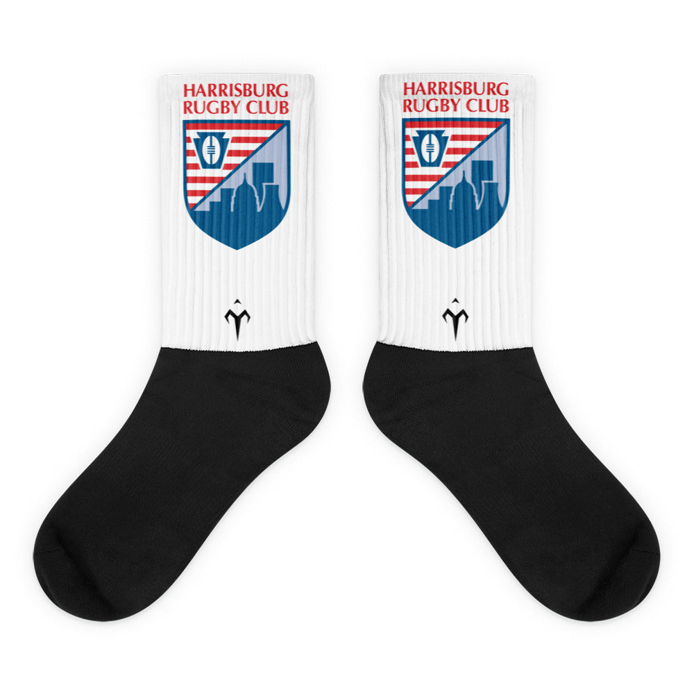 Harrisburg Harlots Black foot socks