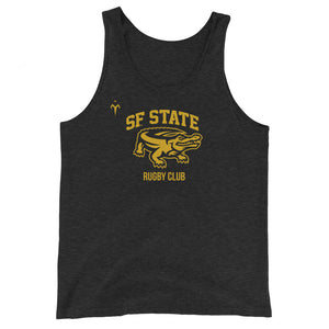 San Francisco State University Rugby Unisex Tank Top
