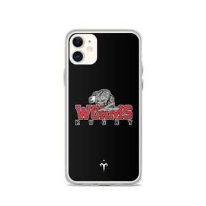 Westerville Worms Rugby iPhone Case