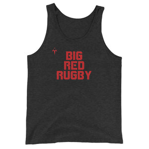 Big Red Rugby Unisex  Tank Top