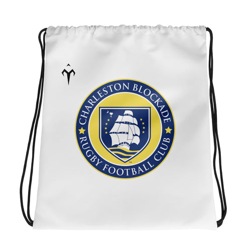 Charleston Blockade Rugby Drawstring bag